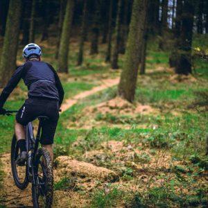 biking in the woods of Vermont - Brewster Gorge