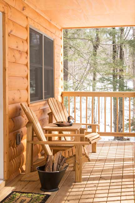 Cabineering and Glamping in Vermont