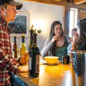 Wine Tasting at Boyden Winery, Jeffersonville VT