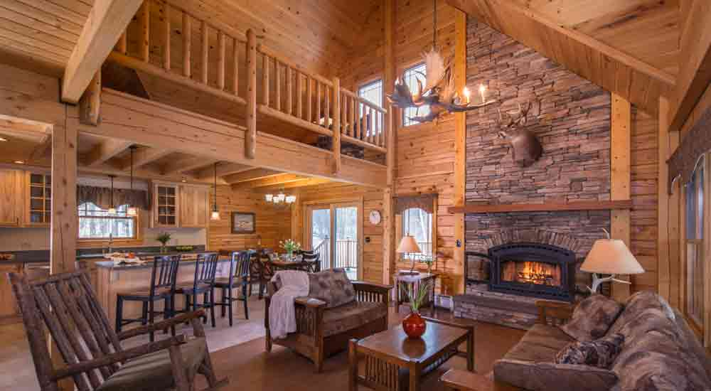 Luxury Vermont Cabin Rental Featured In Field Amp Stream