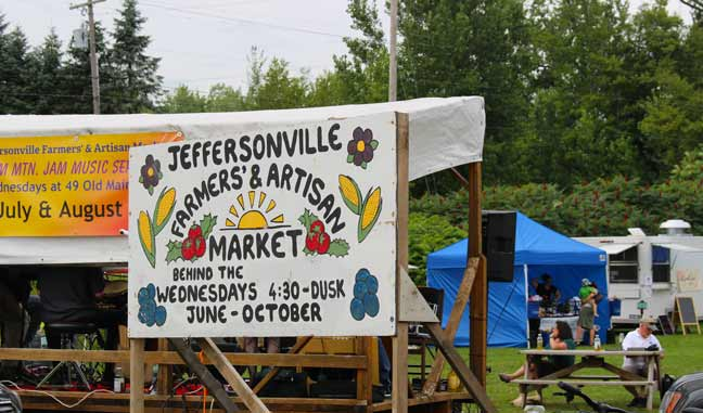 Vermont Farmers' Market in Jeffersonville