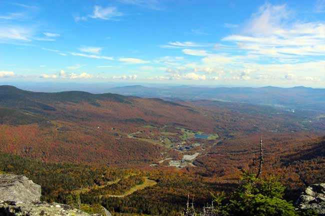Experience Vermont fall foliage by hiking Mt Mansfield