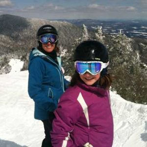 skiing at smugglers notch