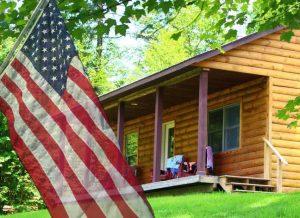 vermont log cabin resort