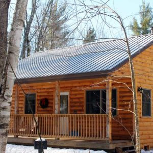Rent a cabin in Vermont | Sterling Ridge Log Cabin Resort