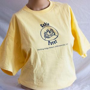 Cabin Fever T Shirt – Yellow