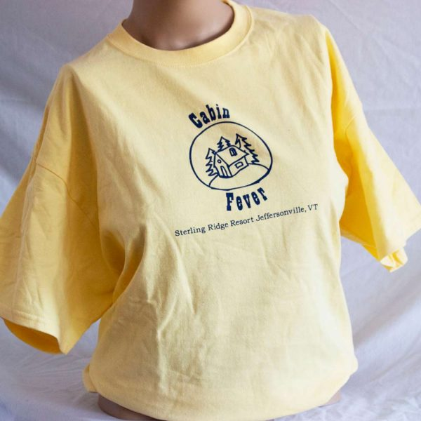Yellow Cabin Fever T Shirt