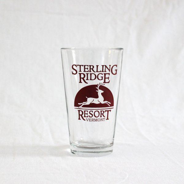 Sterling Ridge Resort pint glass