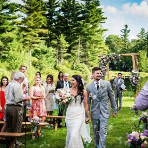 Wedding events at Sterling Ridge Resort