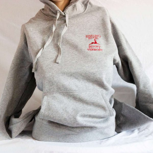 Gray Sterling Ridge Resort Hoodie