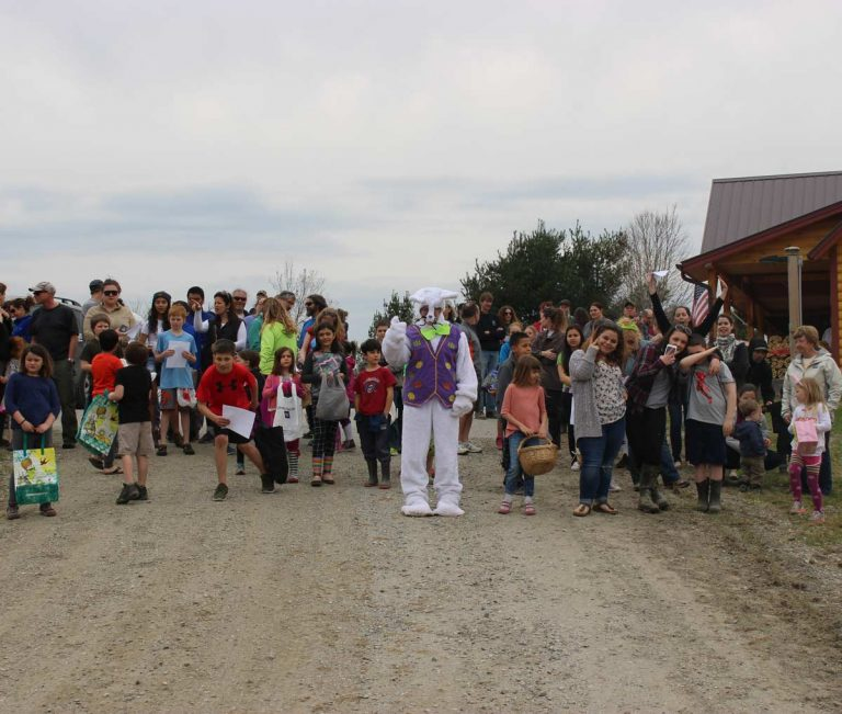 Sterling Ridge Resort's 7th Annual Vermont Easter Egg Hunt