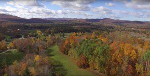 Peak Vermont fall foliage at Sterling Ridge Resort