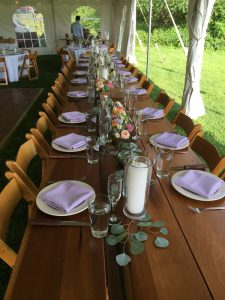 simple table setting