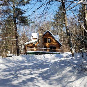 cabin at sterling ridge resort in vermont