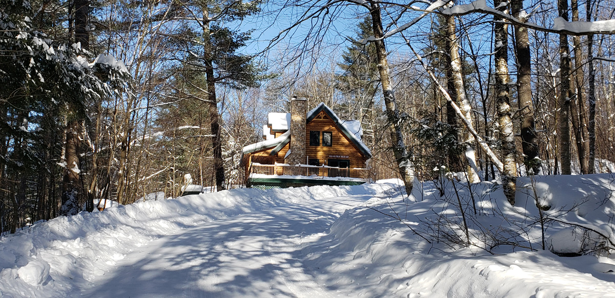 vermont vacation cabins in the snow | sterling ridge resort