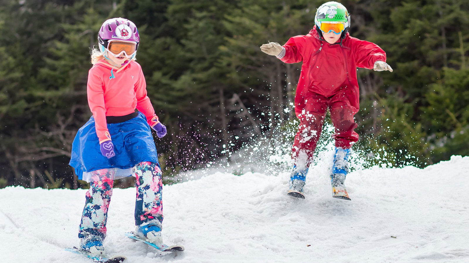spring skiing in vermont