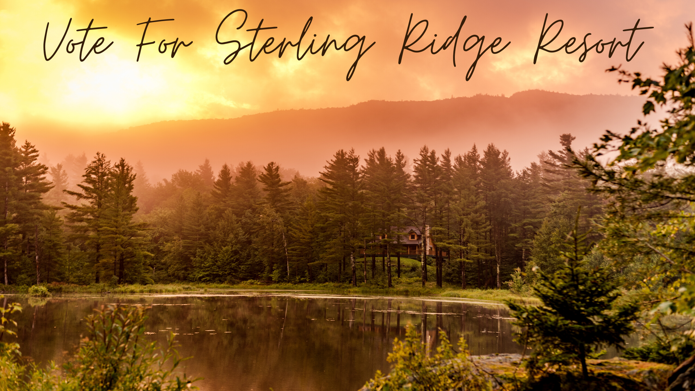 Vote for Sterling Ridge Resort top Vermont escapes