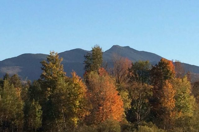 View of mt mansfield from mansfield house